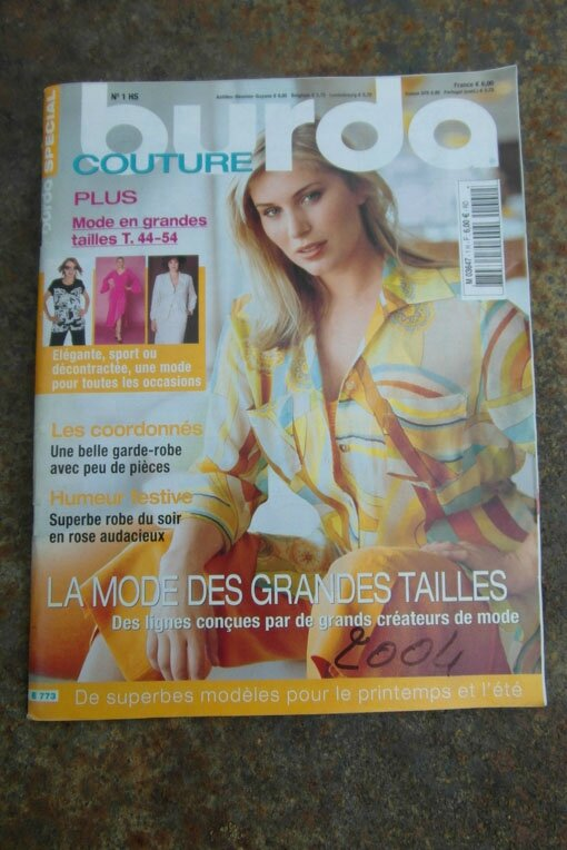 burda couture plus HS1