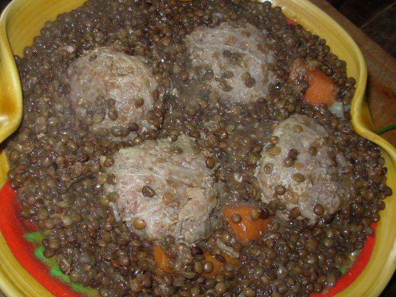 Mijot de lentilles vertes du puy aux cr pinettes bienvenue dans ma cuisine - Comment cuisiner les lentilles vertes ...