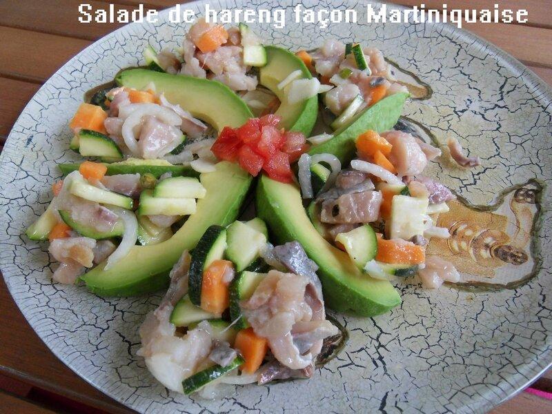 salade de hareng façon Martiniquaise2