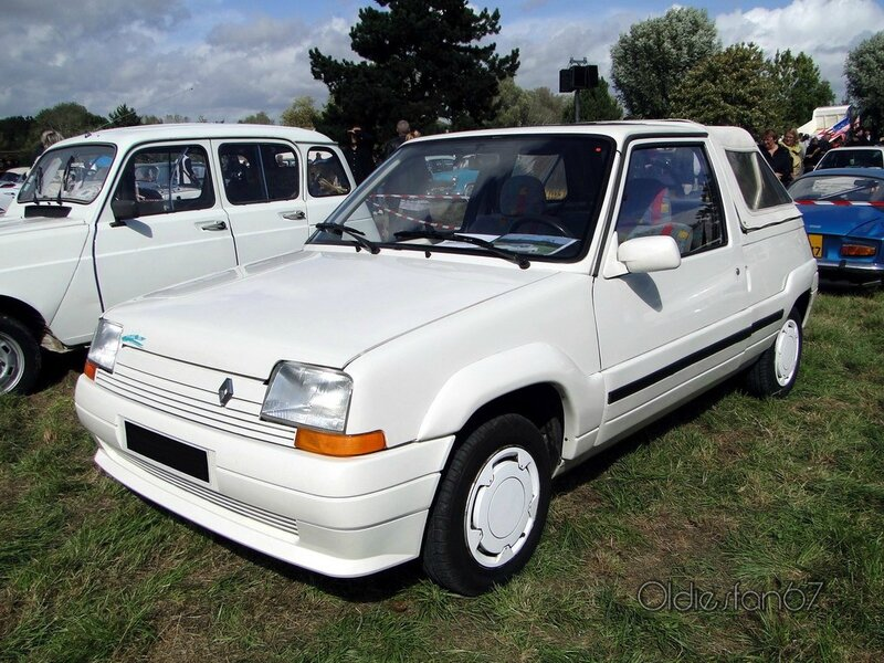 renault super 5 belle ile pickup 1989 1990 a