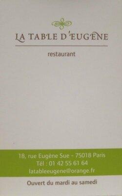 La Table d'Eugène (14)