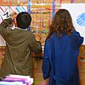 Stage jeu de peindre enfants/adultes : 18-19-20-21 avril 2017