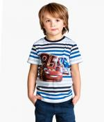 T-shirt enfant Cars Néon / H&M / Prix indicatif* : 7.50€ / Disponible en avril