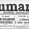 Regards sur 1919 - juin - l'appel de romain rolland, juin 1919