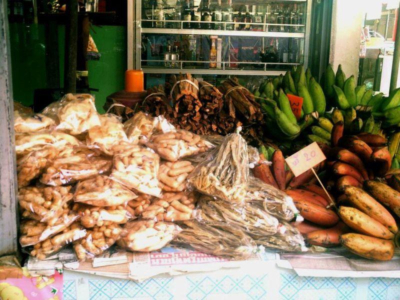 Mae Hong Son - le marché
