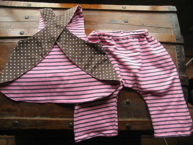 pour colombe tablier elsie pantalon patron maison tissu jerse photo de couture pour les. Black Bedroom Furniture Sets. Home Design Ideas