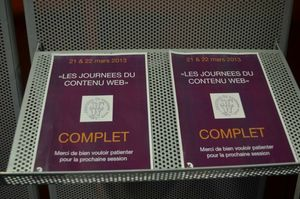 Journes du contenu web