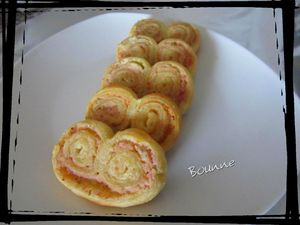 Palmiers jambon,fromage ail et fines herbes (5)