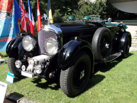 BENTLEY Supercharged Blower 1930 Festival Automobile de Mulhouse 2009 2
