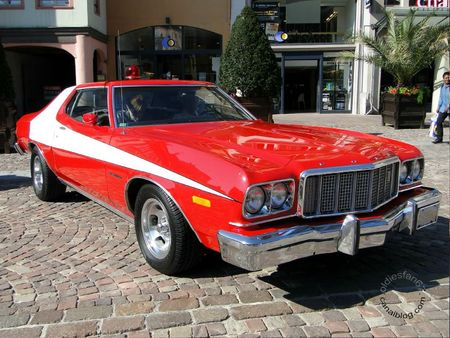 Ford gran torino 2door hardtop coupe 1974 1976 Festival Automobile de Mulhouse 2011 1