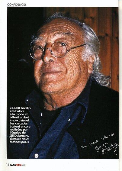 Le réalisateur Georges Lautner
