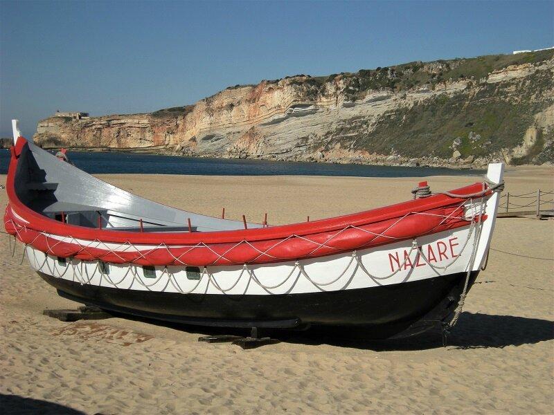 bateaux de peche a Nazare