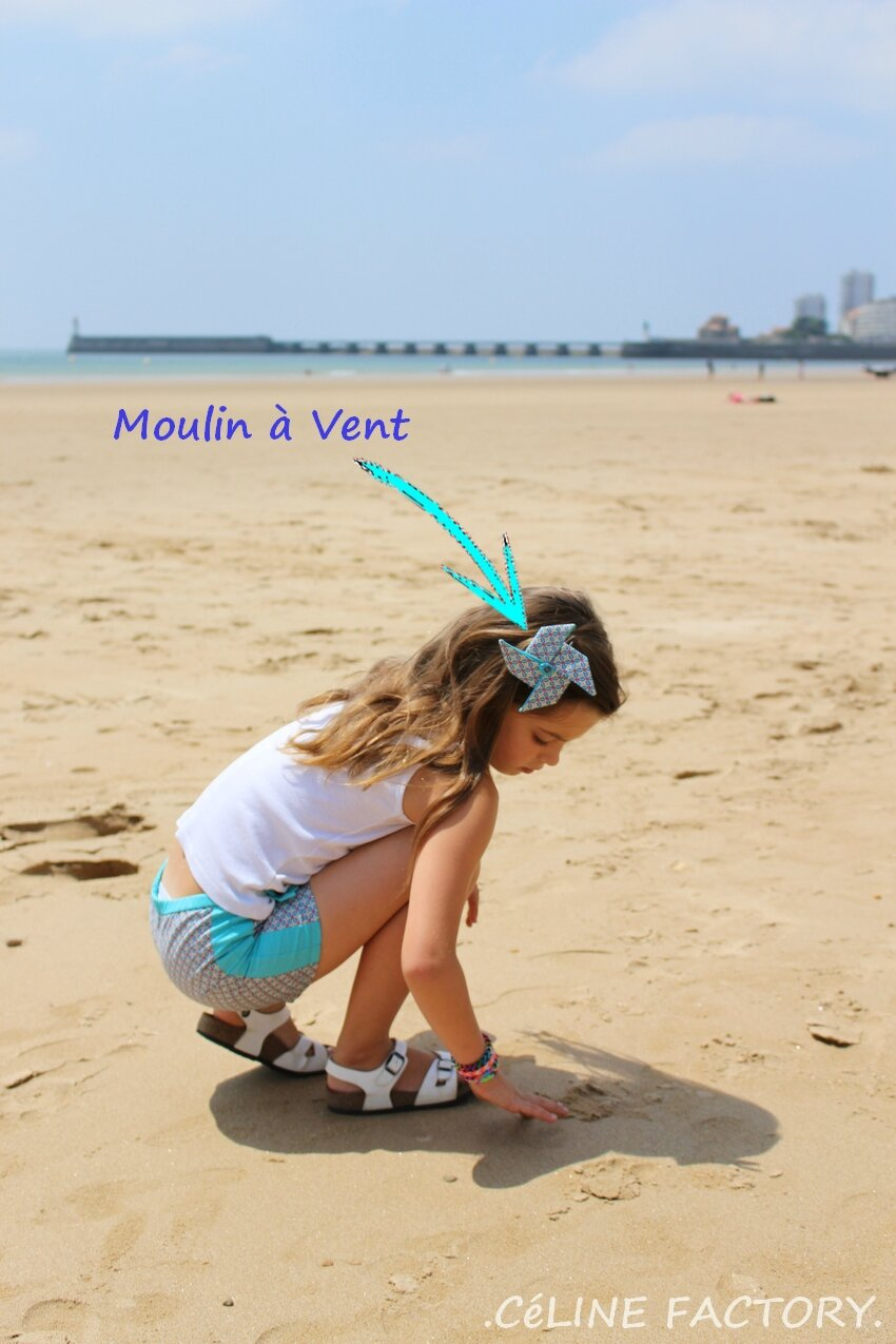 Mini Short Moulin à Vent