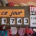 Tricot compteur solidaire du mardi 11 décembre 2012 : 1 743 créations déjà récupérées et réceptionnées à fourmies... bravo !!!