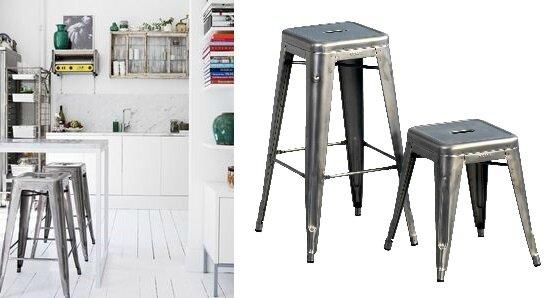 tabourets m talliques fran ais episode 3 le tabouret tolix l 39 astrolabe. Black Bedroom Furniture Sets. Home Design Ideas