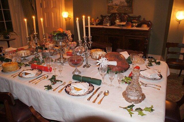 la table de no l le cottage de gwladys. Black Bedroom Furniture Sets. Home Design Ideas
