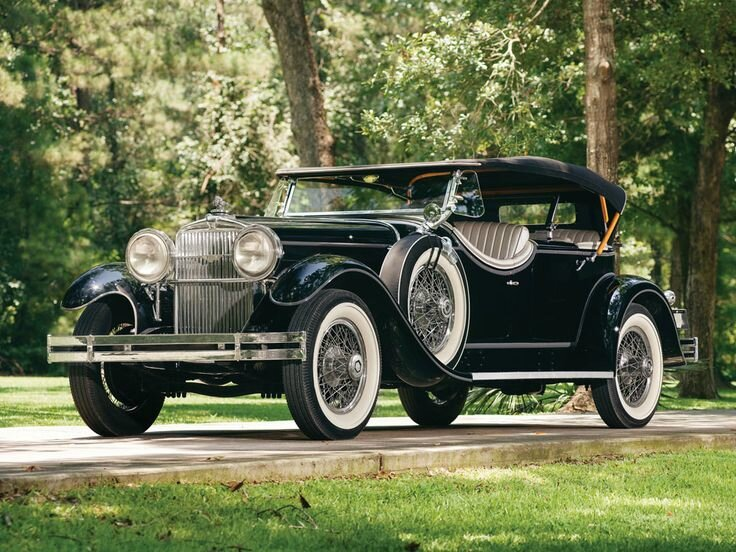 1929 Stutz Model M Four-Passenger Speedster by LeBaron