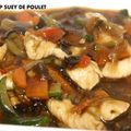 SHOP SUEY DE POULET