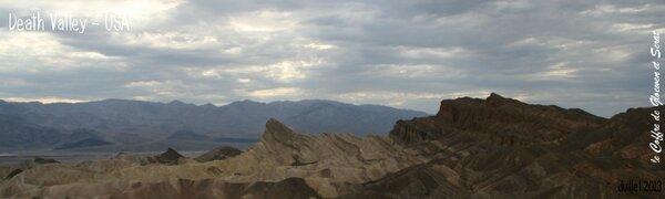 Paysages de la vallée de la mort - Road trip USA-Ouest américain - chez Gloewen et Scrat (3)