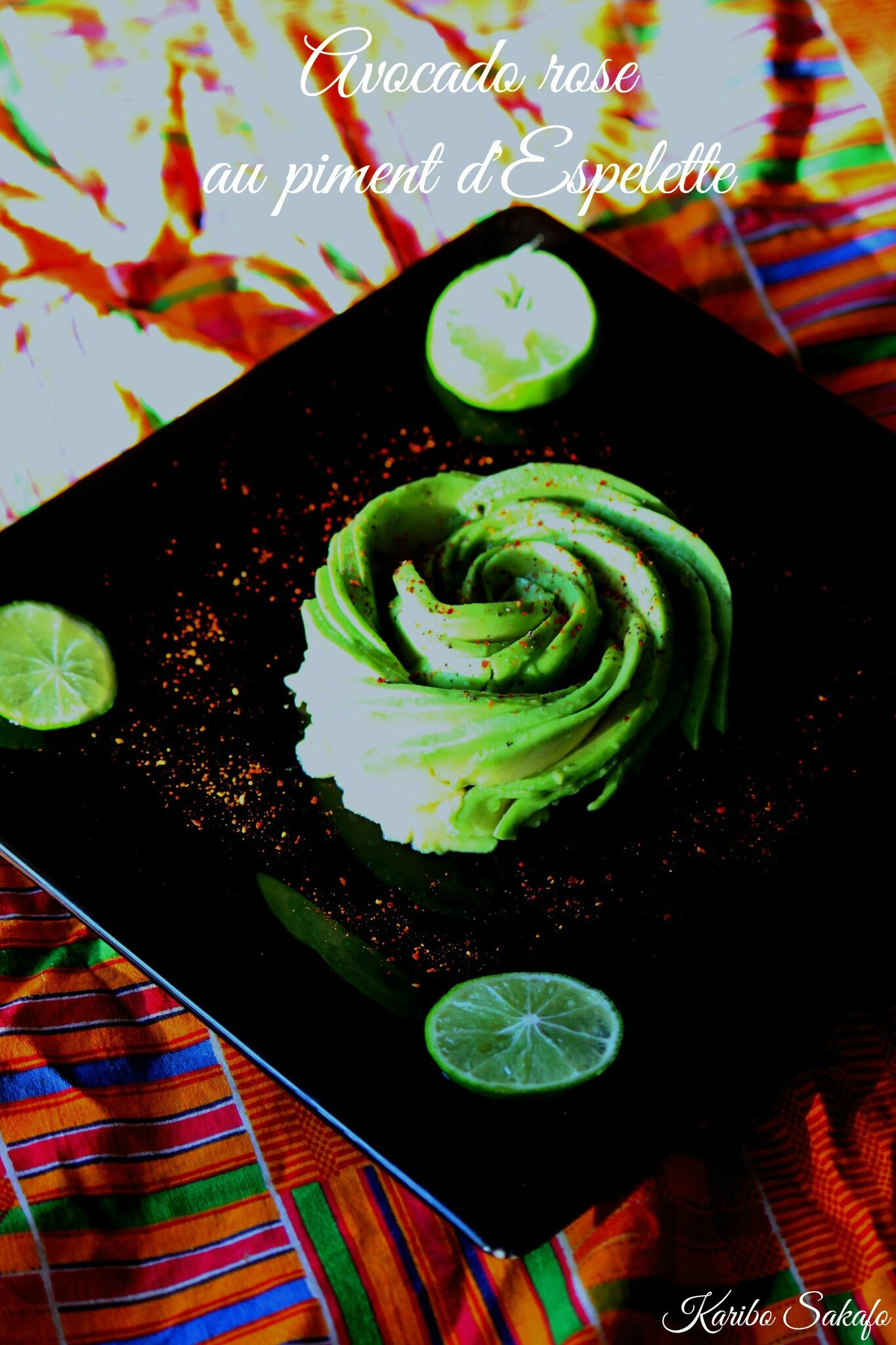 Avocado Rose au piment d'Espelette