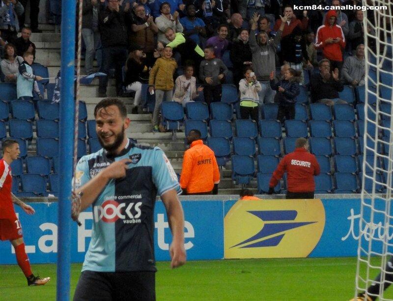 HAC - Nîmes coupe de la Ligue 08