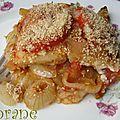 Gratin de pain, tomate et oignon