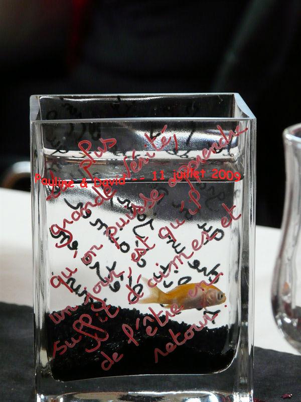 Deco mariage poisson rouge meilleur blog de photos de for Deco poisson rouge