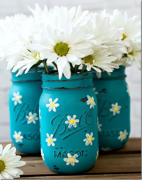 marguerites pots masson