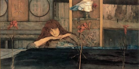 Fernand Khnopff I lock my door upon myself, 1891