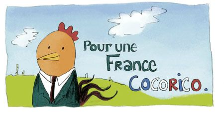 Une France cocorico