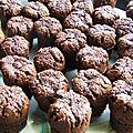 Bouchons chocolat/ pralinoise
