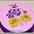 Jolies et délicates violettes...
