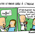 Cancer, detection et ça tombe à point