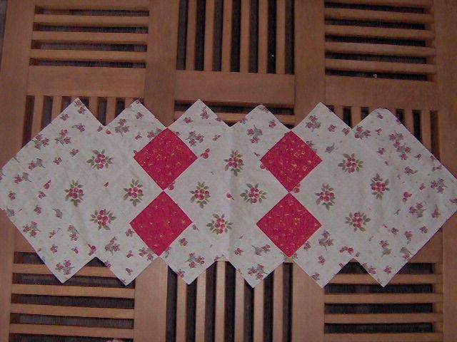 Patchwork chemin de table cr ad co - Chemin de table en patchwork ...