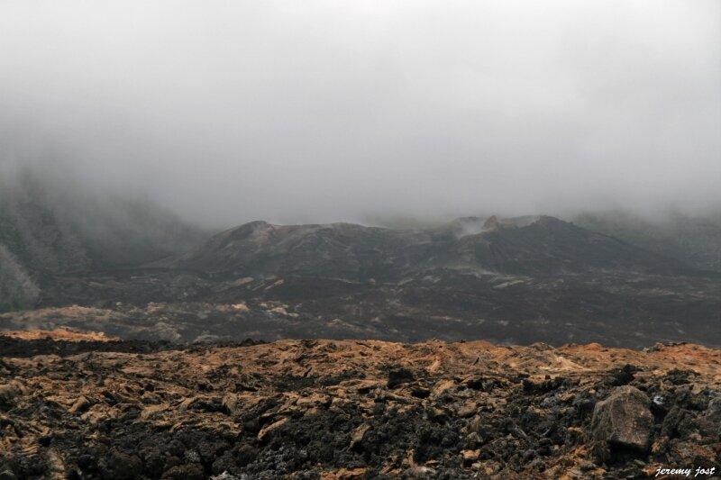 cone eruptif de 2007