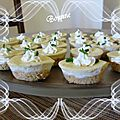 Mini cheese cakes apéritif