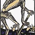 Vincent beckers joue avec la mort du tarot