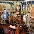 Itxassou, église Saint-Fructueux, retable