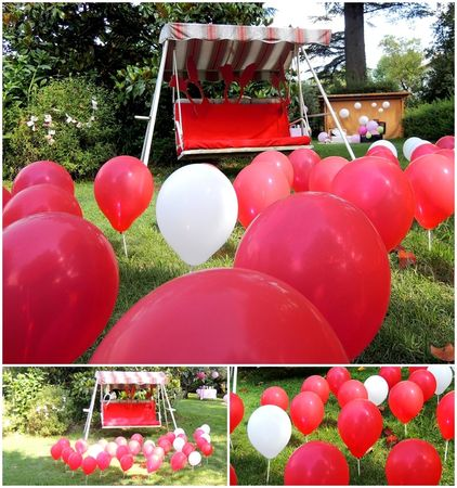 nuage_de_ballons_balancelle_rouge_passion_scenographie_jardin_mariage_veronique_decourty