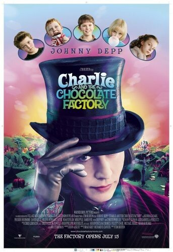 Charly et la chocolaterie ( affiche)
