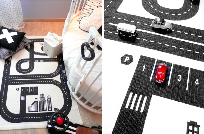 Célèbre Shopping : Un tapis circuit pour ses petites voitures ! - Mlle  KZ57