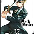 [parution] black butler tome 17