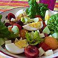 Méli mélo de fruits et petits légumes, pop corn au curry