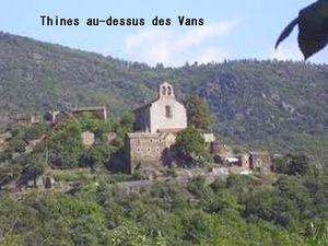 église de Thines