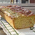 Cake au thon et au pesto