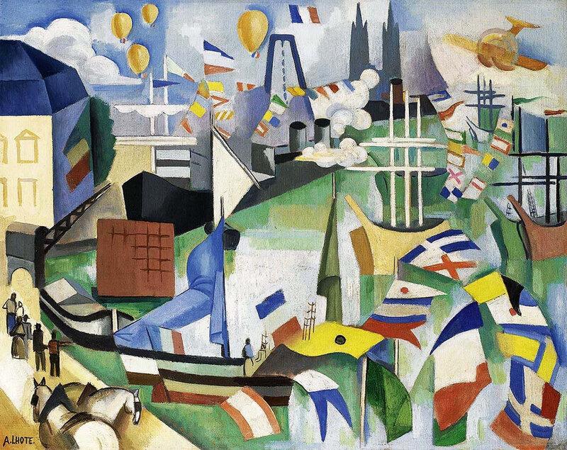 1914 - 14 juillet, Port de Bordeaux-Poincaré