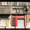 La Joliette, le quai, immeubles emballés