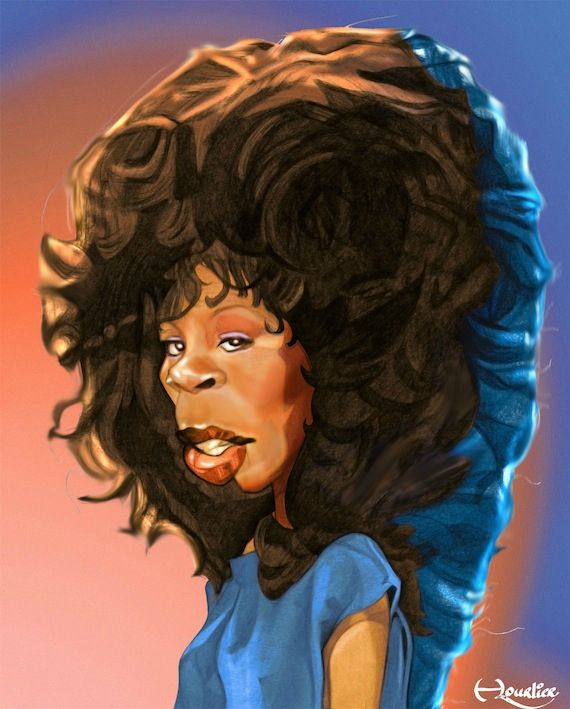 DONNA SUMMER The 80's by Xavier Hourlier