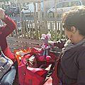 Atelier au marché de douves.