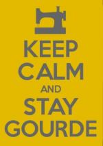 keep calm and stay gourde